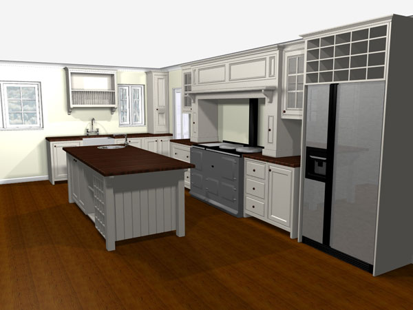 Rendered Kitchen