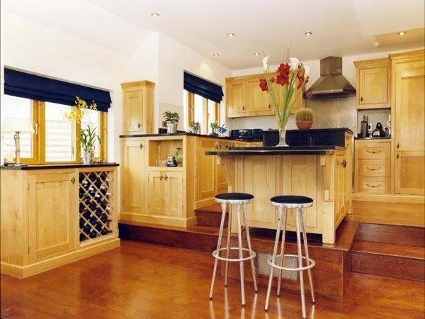 Natural Wood Kitchens
