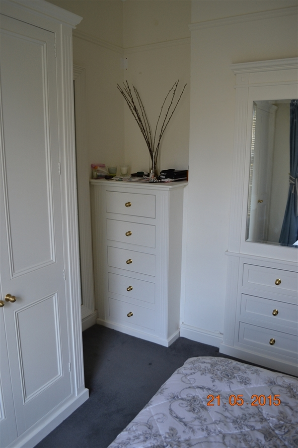 Bedroom furniture in Dublin 4.