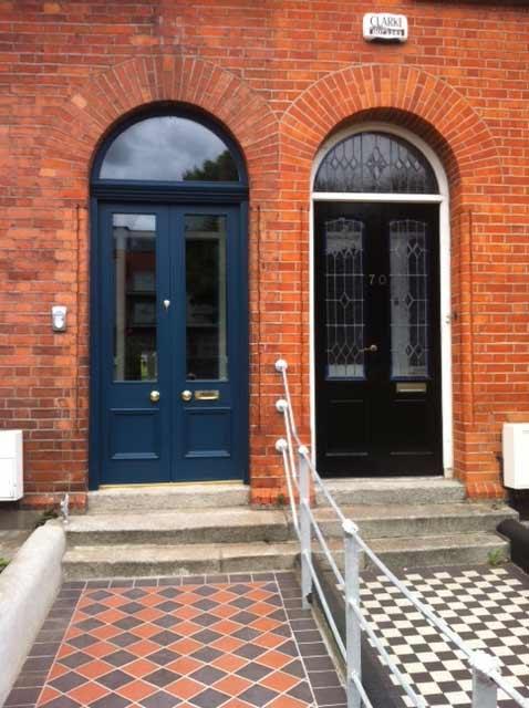 Door in Drumcondra.