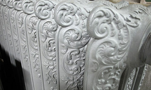 Cast Iron Radiator in White with nice design