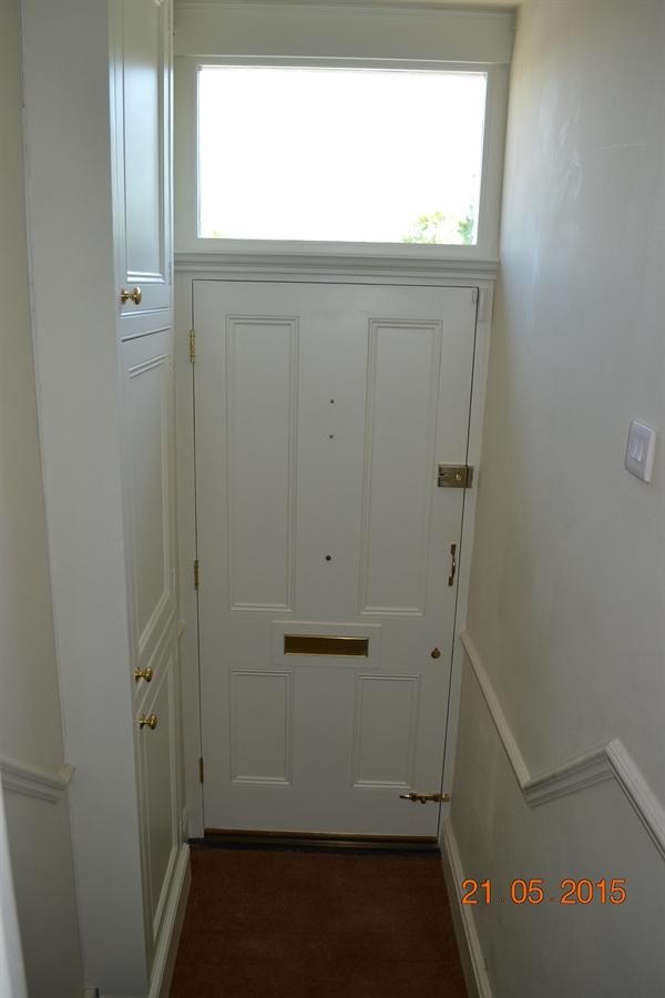 Doors in Dublin 4.