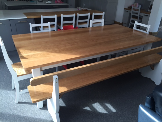 Handmade Kitchen Table