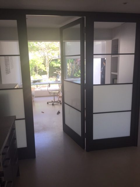 Solid wood kitchens, Crittall Doors