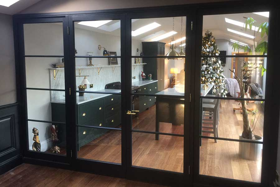Glazed Screen Doors