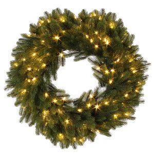 Christmas Wreath with LEDs