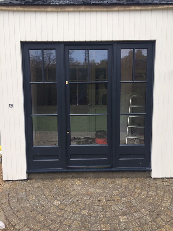 Hand Made French Doors