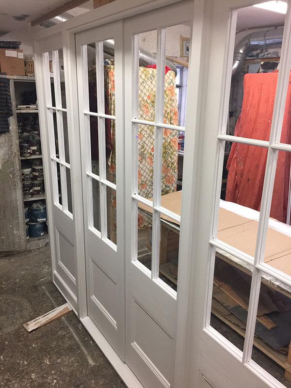 Bespoke French Doors, Handmade French Doors, Custom Built French Doors. Solid Wood Doors, Bi-Fold Glazed Doors