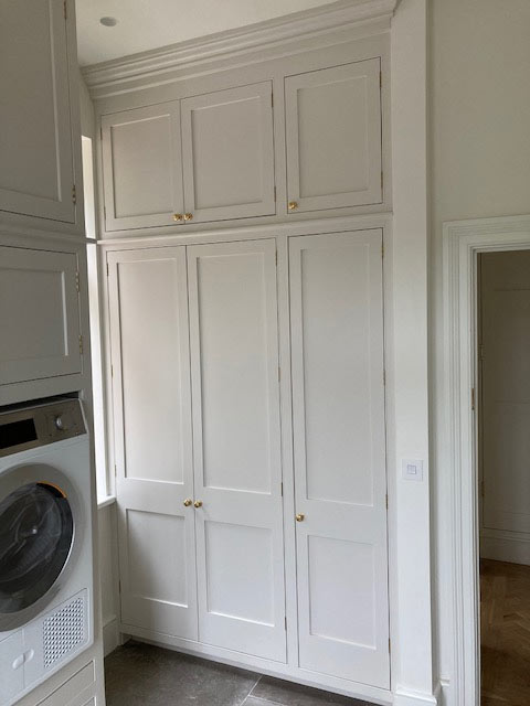 Solid wood kitchens, Bespoke Utility Room